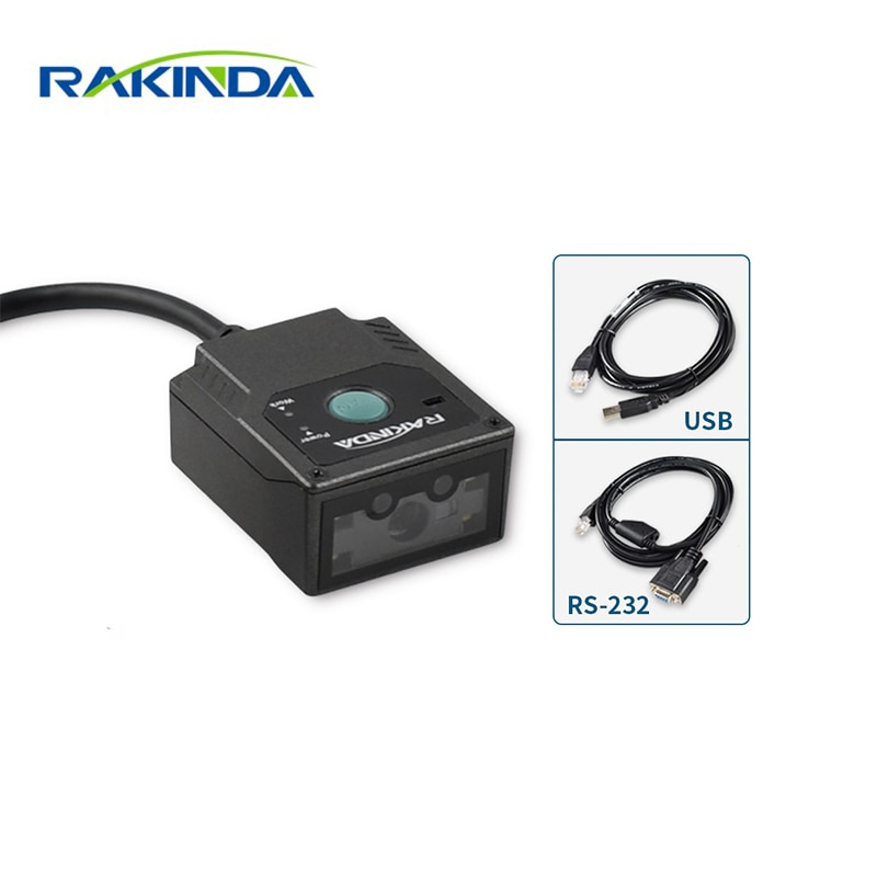 Rakinda RS232/USB OCR/MRZ/azteca portátil Scanne