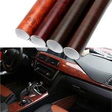 30*100cm Auto Wrap Film Auto Dekore Schutzhülle Holzmaserung Strukturierte Auto Styling 3D Auto Aufkleber und Abziehbilder PVC DIY Dekoration
