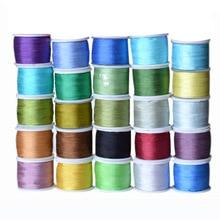 Couleurs froides   Ruban en soie de mûrier Pure 1/8, 4mm 100% pouces de large, garniture en soie de taffetas à Double face, pour broderie artisanale