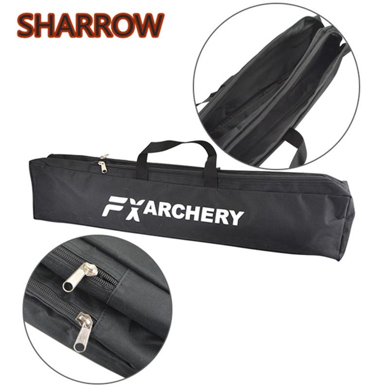 1 Pza bolsa de arco recurvo bolso de arco de doble capa bolsa de cubierta para equipos de Tiro con Arco al aire libre accesorios de tiro