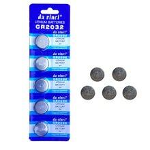 5 Pcs CR2032 Knop Batterijen BR2032 DL2032 ECR2032 Cell Coin Lithium Batterij 3V Cr 2032 Voor Horloge Elektronische Speelgoed remote