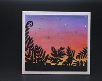 beautiful sunset background metal cutting mold diy scrapbook album decoration supplies clear stamp diy paper card