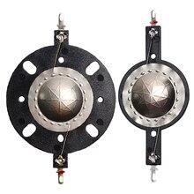 2 STUKS 25.4mm Titanium Diafragma Treble Ring Spreekspoel 25.5 Kern Tweeter Diafragma Film Luidspreker Accessoires DIY