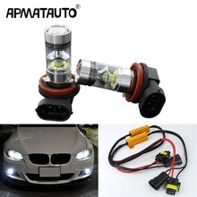 2x H11 bombillas LED 100W para luces de niebla No Error para BMW E71 X6 M E70 X5 E83 F25 X3 2004 para E53 X5 2003-2006 E90 325 328 335i