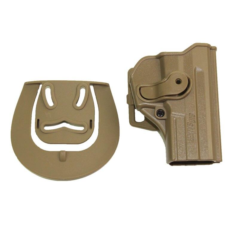 Cinturón táctico de caza, funda de cintura para Sig Sauer PRO SP2022 SP220 P09 Airsoft militar