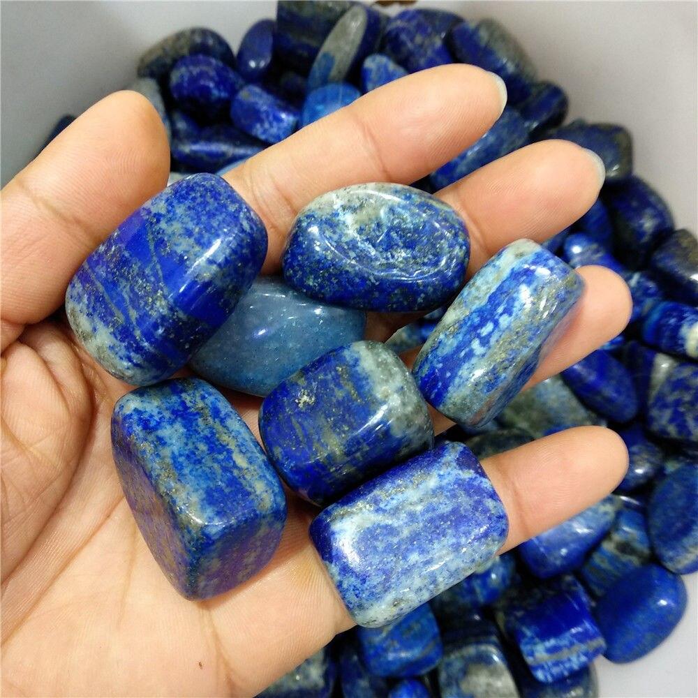 Lapislázuli natural piedras curativas de cuarzo minerales de cristal piedra caída rieki curativa 100g