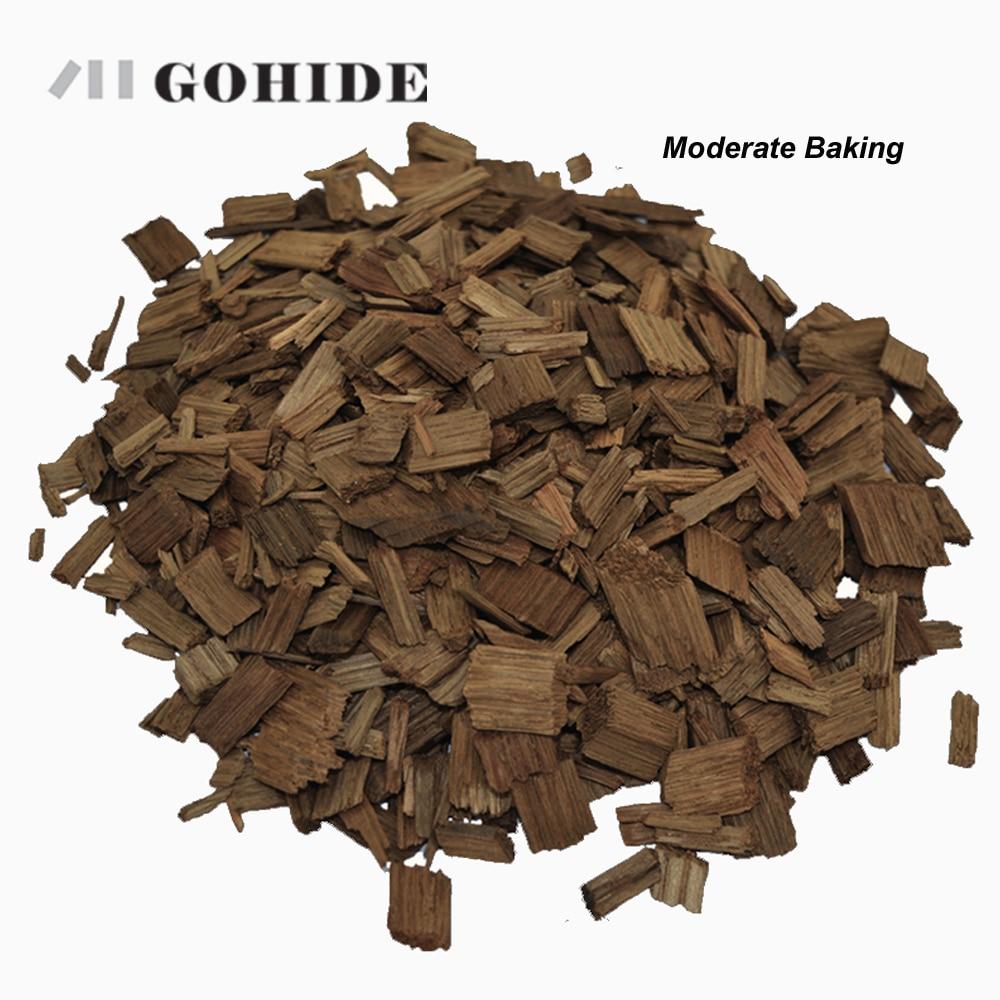 GUH, una bolsa de viruta de roble, elaboración casera francesa, con sabor A cocción moderada/grave, Brandy de vino, proporciona barril de roble, opción de 50g/100g/1000g
