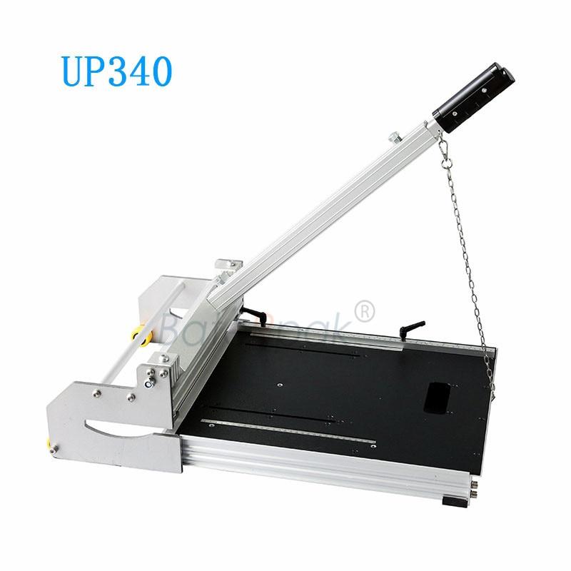 UP340 PVC/WPC sheet floor breaker cutting tools,BateRpak vinyl floor manual cutter,Carpet Leather cutting machine