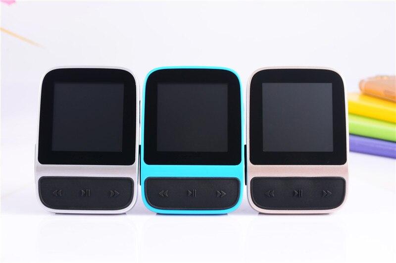 Moderna pantalla TFT de 1,5 pulgadas, reloj HIFI de 8 GB, reproductor mp3, Clip trasero inteligente, relojes deportivos, reproductor MP3 con radio FM y podómetro