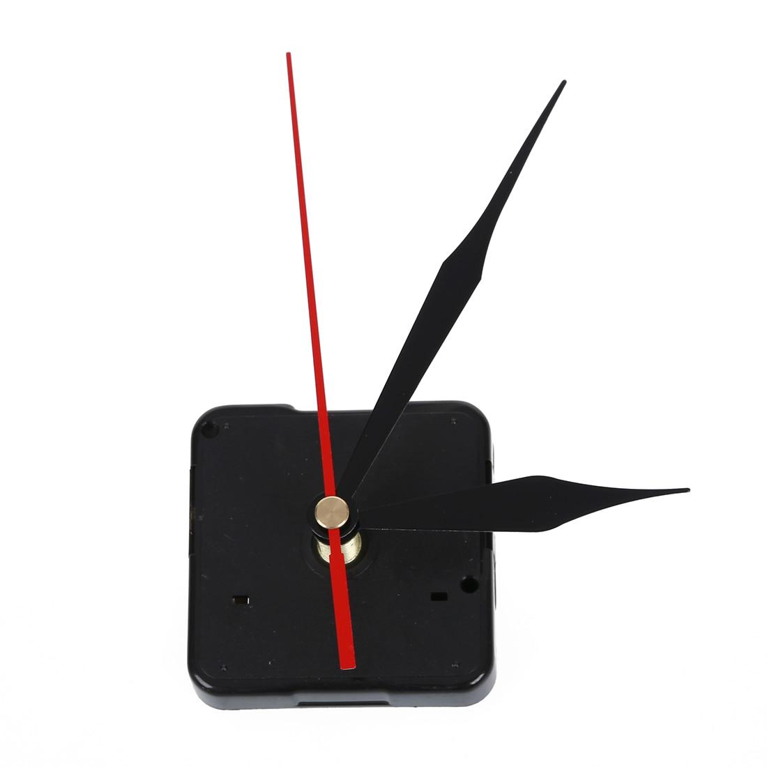 Mecanismo de movimiento del reloj hora negra minuto rojo segundo herramientas manuales de bricolaje piezas