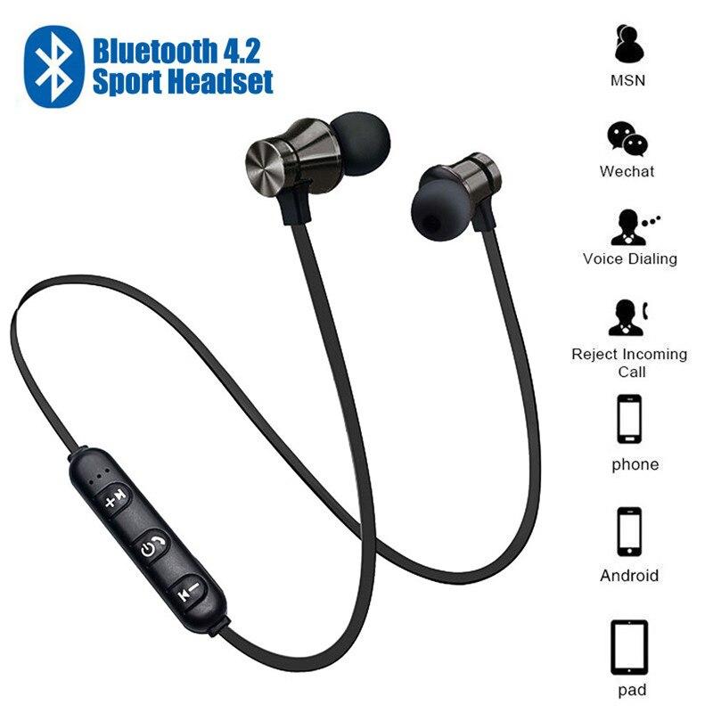 Magnético sem Fio Fone de Ouvido Esportes à Prova Fones de Ouvido sem Fio Fone de Ouvido com Microfone para Iphone Bluetooth Estéreo Dwaterproof Água com Microfone para Iphone Samsung 20 Pçs