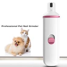 Tondeuse à ongles électrique professionnelle   machine de polissage automatique pour manucure ongles lisse pour chien chat et animaux de compagnie avec 2 batteries