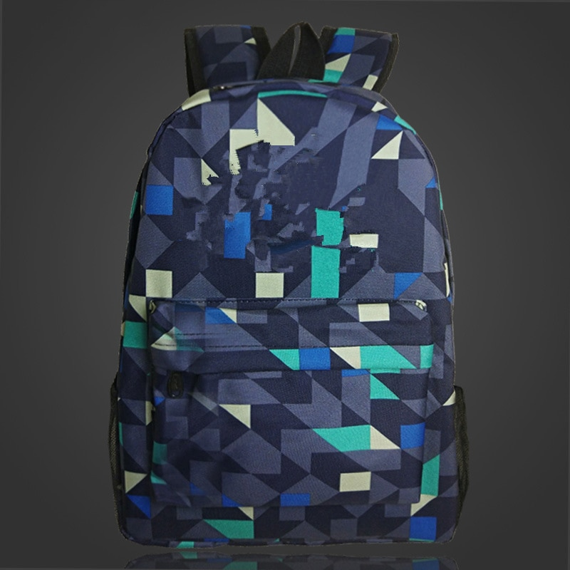 Add Game logo same before logo Backpack Night Luminous Logo Backpack School Bag Boys Girls Schoolbags Teenagers Bagpack Mochila