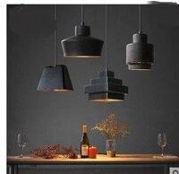 Nordic Pendant Lights glass designer American rustic retro old idyllic style Mediterranean industry loft retro Pendant lamps
