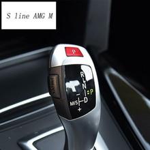 Poignée de changement de vitesse BMW 3 4 Serise F30 F32 F34 3gt   Accessoires dintérieur pour BMW Style de voiture