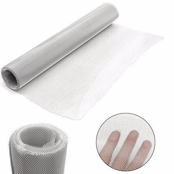 50cm x 3m aluminio fino modelado Mod malla Filtro de alambre hoja agujero diámetro 2mm/3,5mm