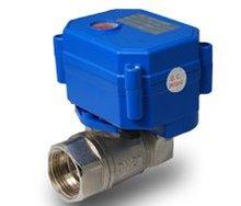 "Envío Gratis 5 unids/lote 1 ""VOLT 3-6 V o 12 V CWX Mini válvula de bola de acero inoxidable tratamiento de Agua CR01, CR02... CR05 Control"
