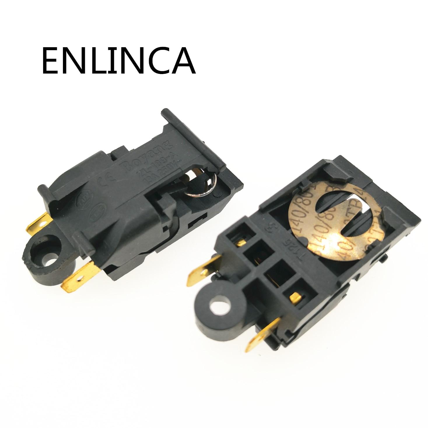 5 pçs/lote ZL-189-A T125 interruptor termostato chaleira 13A