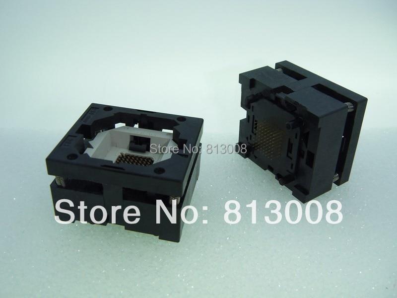 BGA64 11mm 13mm x 13 MM 1,0mm IC asiento de ensayo/Socket de prueba/banco de prueba/bloque STI7111-BUC S29GL064N90FFiS2 GL032N90FFiS2 GL256N10FFi01