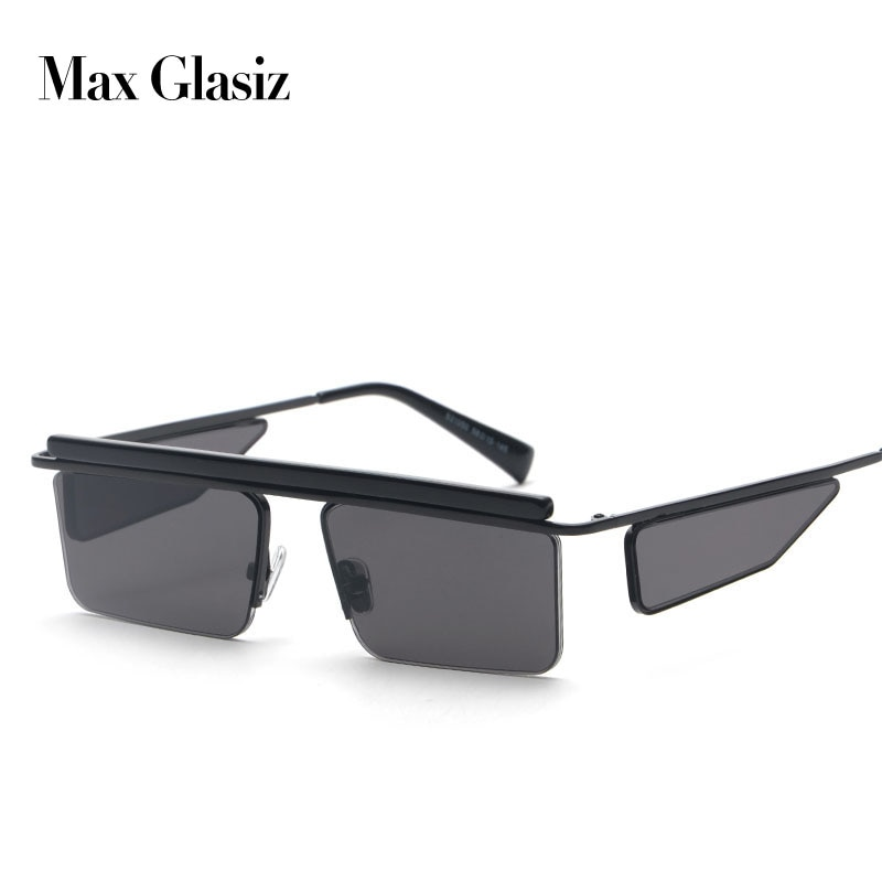 Nuevas gafas de sol cuadradas 2018 para mujer y hombre, marca de diseñador, gafas de sol de moda Unisex, gafas de sol de estilo Vintage