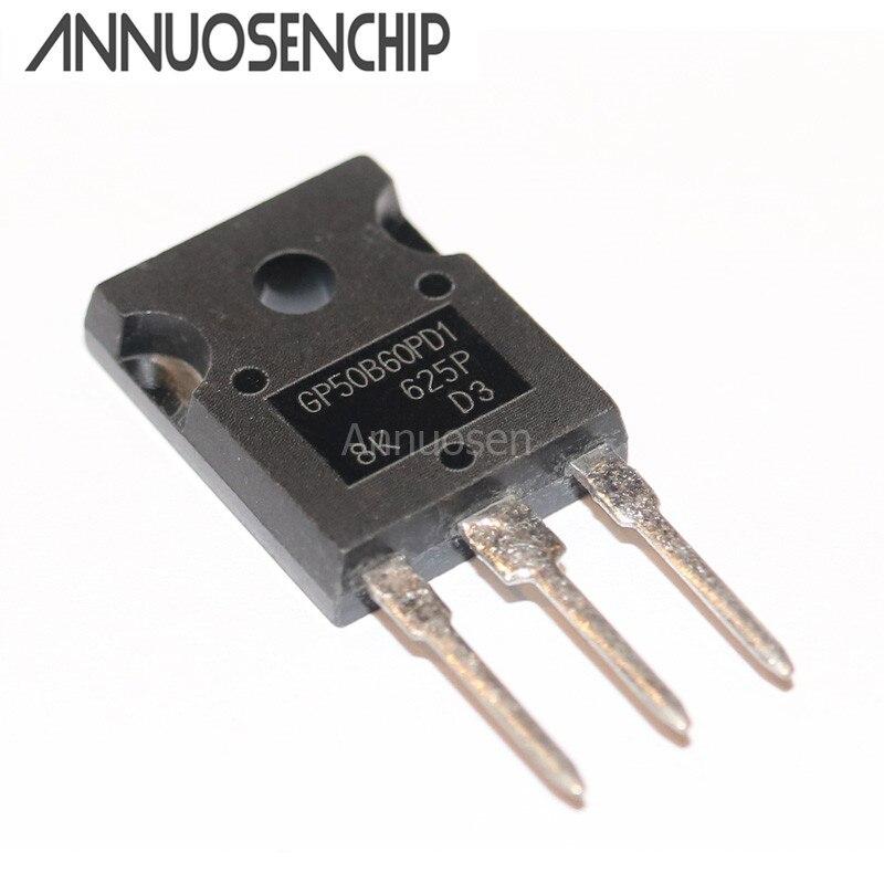 10 unids/lote IRGP50B60PD1 IRGP50B60 GP50B60PD1 50B60 TO-3P nuevo y original envío gratuito
