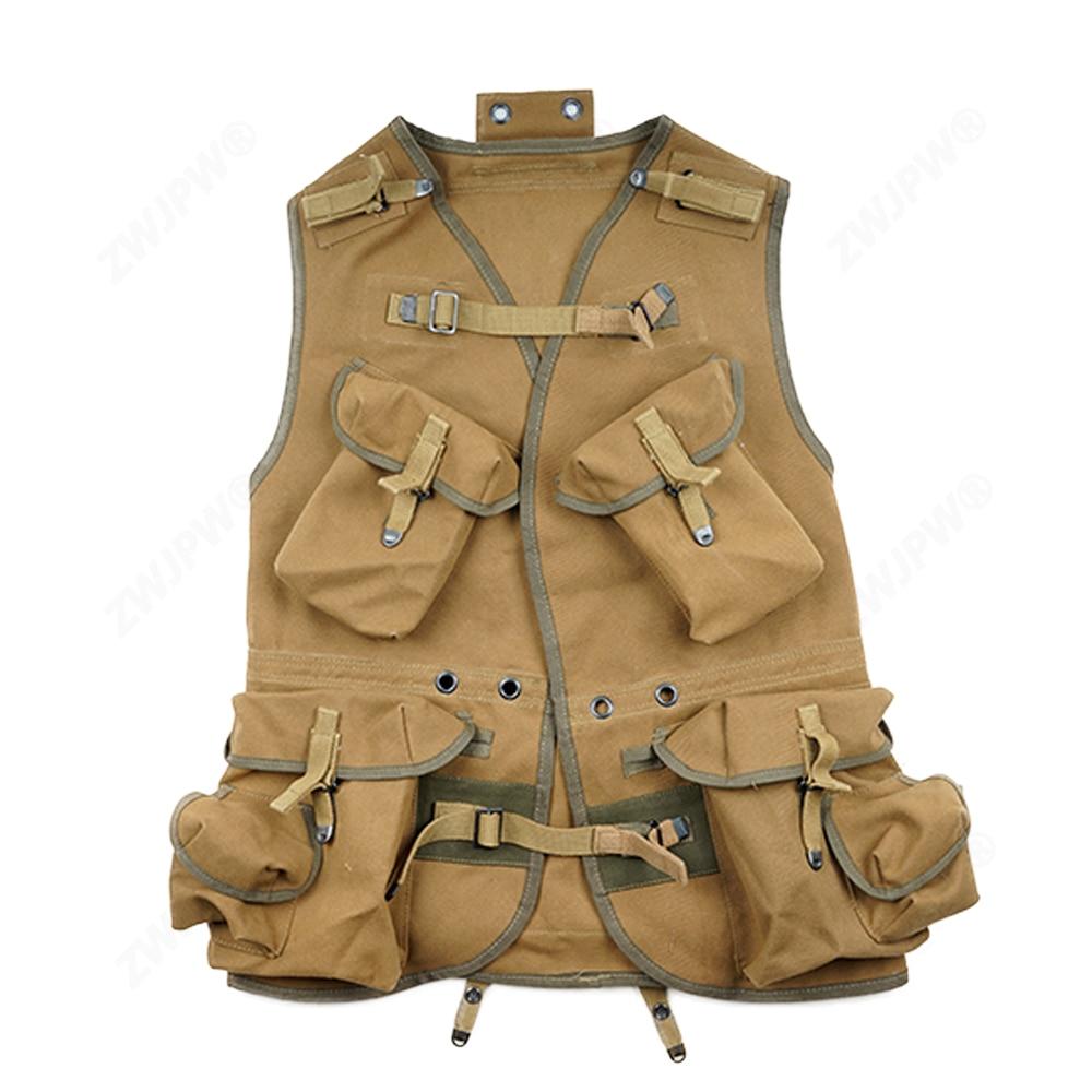 WW2 армейский жилет цвета хаки и Реплика/409102-