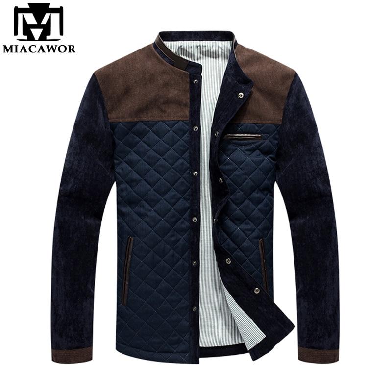 Мужская осенняя куртка-бомбер MIACAWOR, повседневная мужская куртка-бомбер, Прямая поставка J100