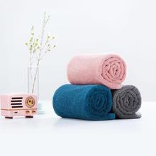 100% coton serviette 32*70cm serviette 5 couleurs forte Absorption deau bain doux et confortable plage visage essuie-mains