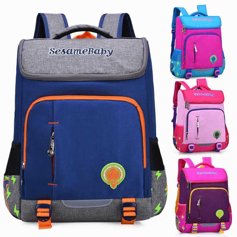 Children School Bags for 6-12 years old Teenagers Boys Girls Orthopedic Rucksack Primary School Backpack Set Kids Travel Mochila