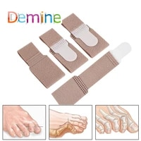 4pcs toe separator strap toe overlapping thumb valgus reduce foot thumb extrusion heel pad toe correction strap inserts