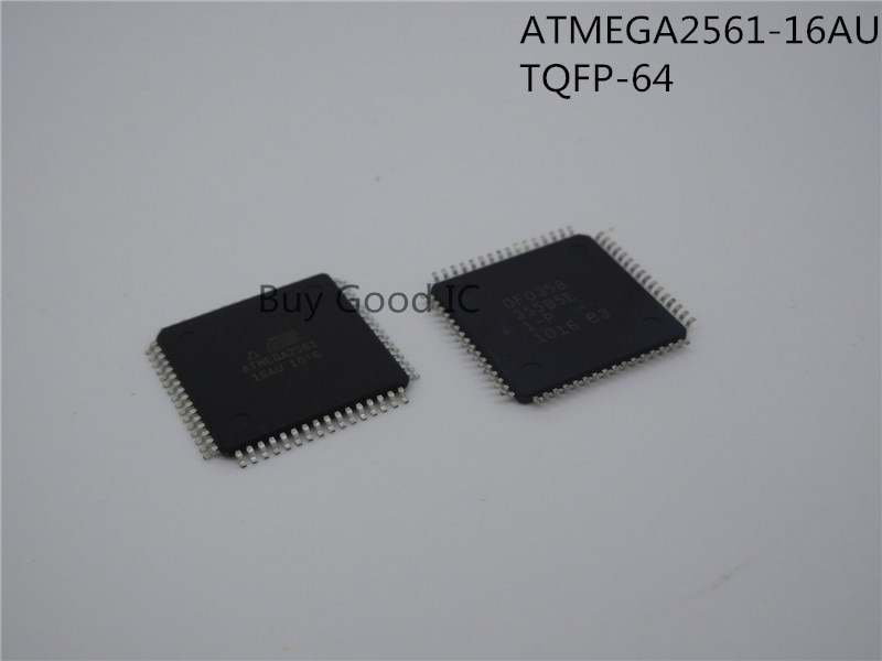ATMEGA2561-16AU ATMEGA2561 TQFP-64 10 unids/lote envío gratis