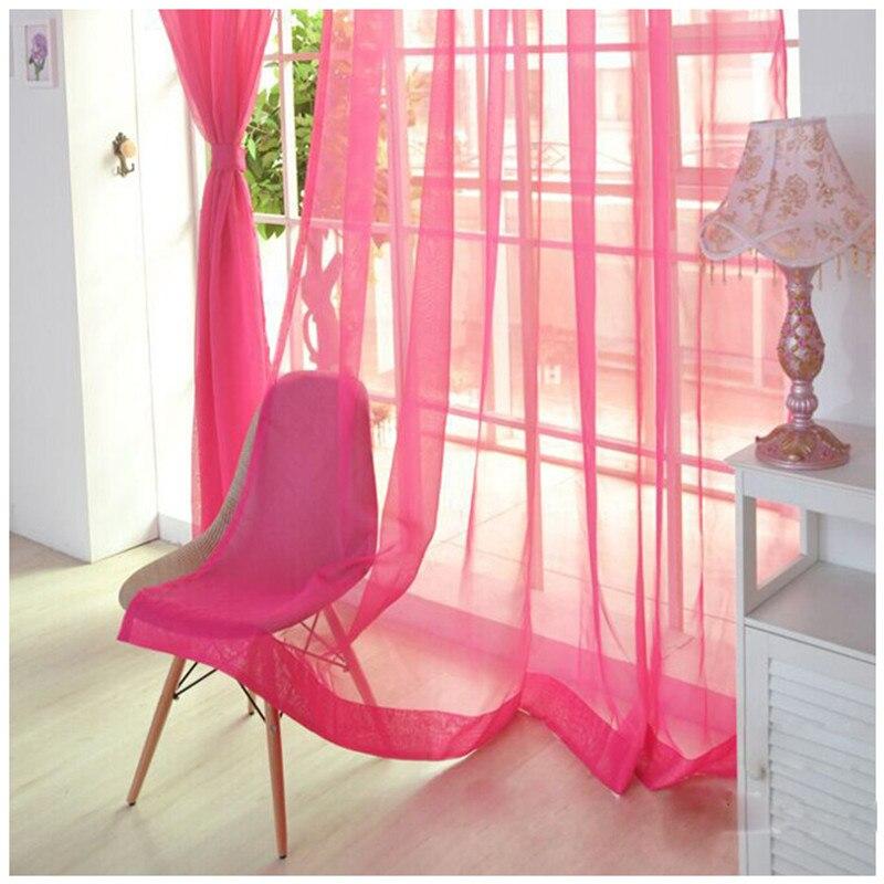 NOCM, barra de desgaste, color sólido, Shalian, corte de ventana, mosquitera, cortinas opacas, cortinas de ventana de color rosa oscuro, pantallas de desgaste para balcón