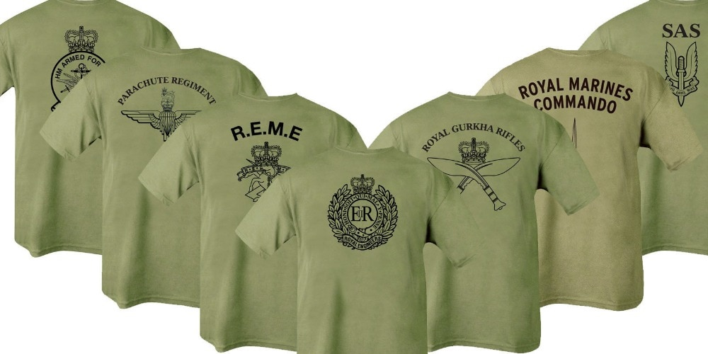 HMRC Para REME RGR RMC SAS RE Army T shirt Men casual tee USA Size S-3XL