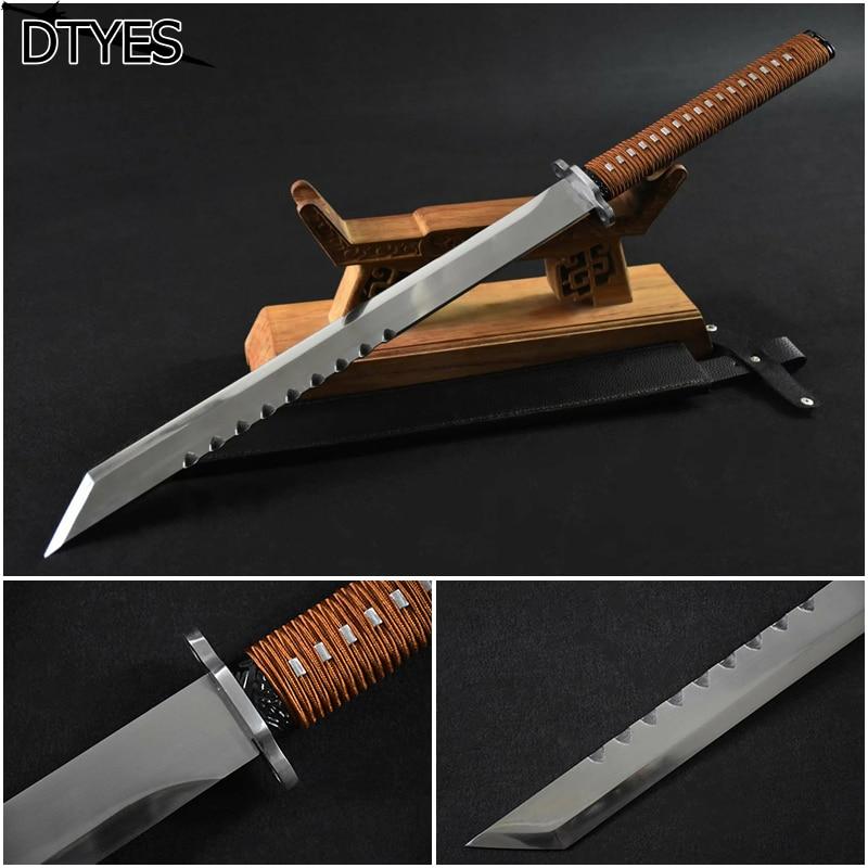 Espada de película Metal chino espada Acero de alto manganeso espadas chinas hechas a mano espada China afilada Epee Chinois