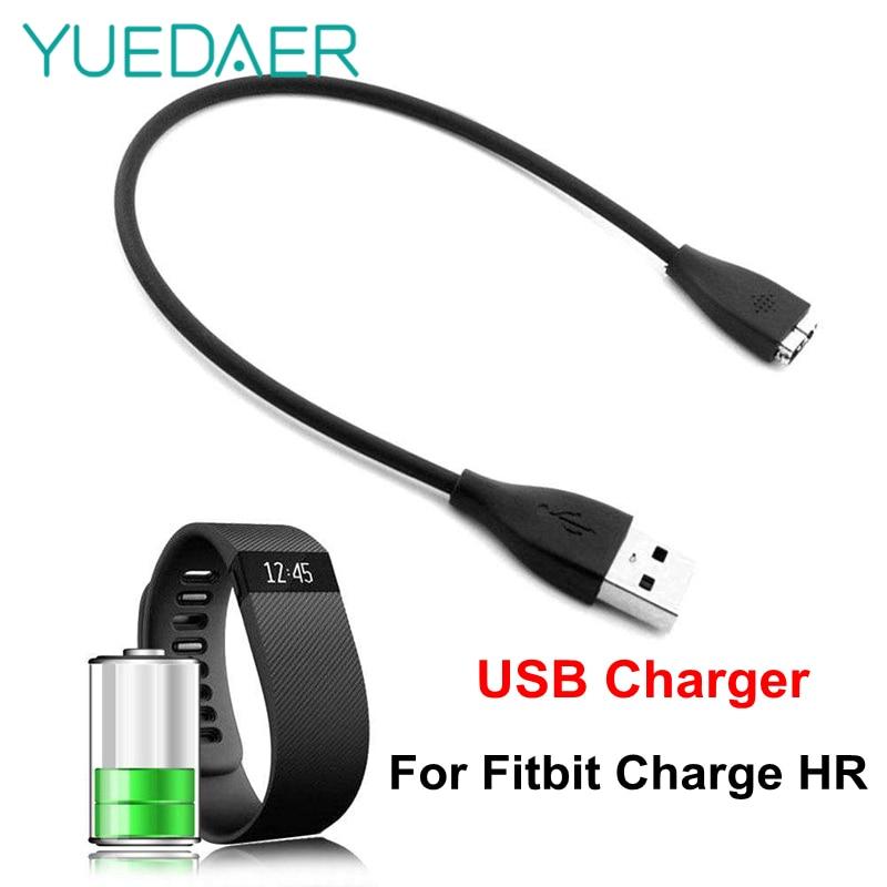 YUEDAER-cargador USB de repuesto para Fitfit Charge HR, Cable de carga con...