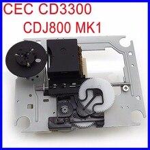 Оригинальный CEC CD3300 Оптический Пикап-механизм Замена CDJ 800 MK1 лазерный объектив Lasereinheit для Pioneer CDJ-800 cd-плеер
