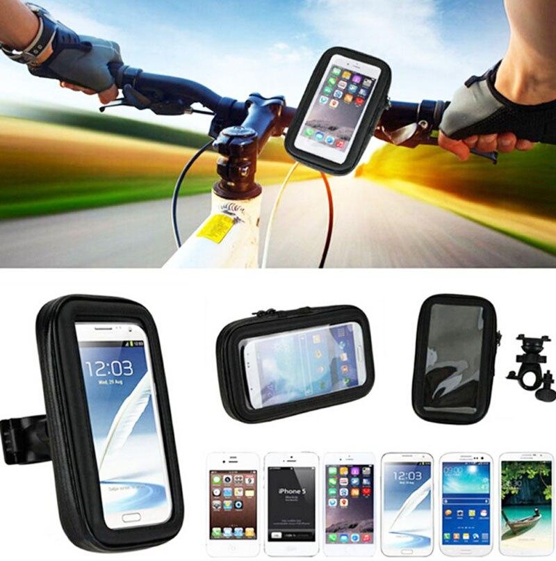 Fundas de teléfono móvil para bicicleta resistente al agua con pantalla táctil, soportes de bolsas para alcatel Pixi 4 Plus Power,Gionee M6 Plus S6