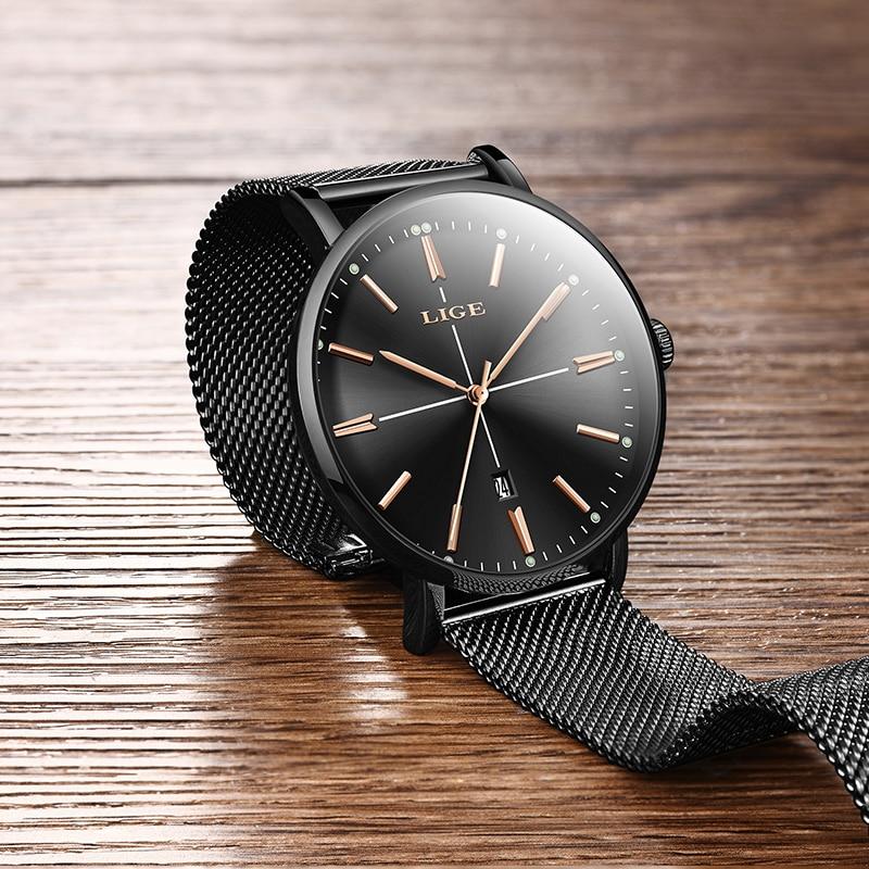 2019 LIGE New Women Watch Business Quartz Watch Ladies Top Brand Luxury Female Wrist Watch Women Girl Clock Relogio Feminin+box enlarge