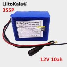 LiitoKala 12V 10Ah Battery 18650 12V Battery Brand 2000mAh 10C Rechargeable Batteries For Digital Cameras Emergency Power LED