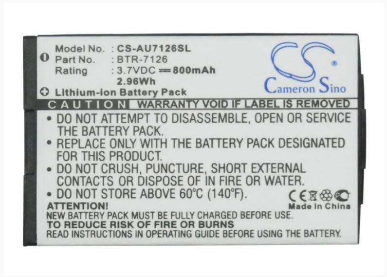 Аккумулятор Cameron Sino 800mAh Для AUDIOVOX CDM-7126-7176-8074 BTR-7126 для METROPCS CDM-7126 для UTSTARCOM CDM-7126