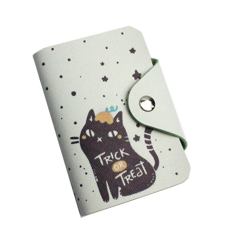 M003 Cute Unicorn Passport holder 20 tarjeteros PU cuero dibujos animados gato oso flamenco pasaporte cubierta mujer ID funda con tarjetero