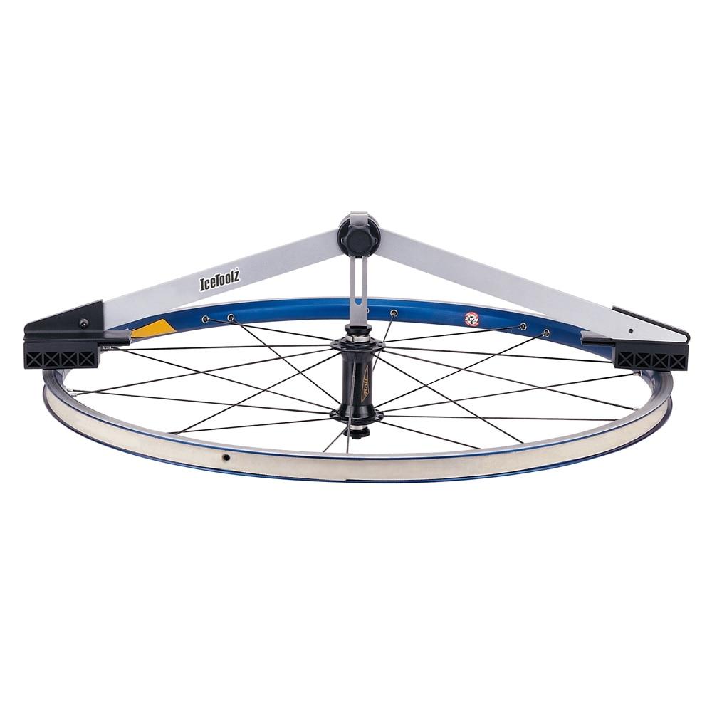 """Icetoolz E312 Центровочный манометр для обода размером 16 """"~ 31"""" инструмент для велосипеда инструмент для колеса"""