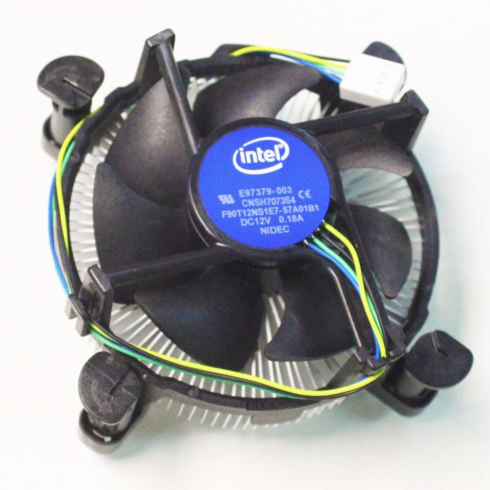Intel g1820 g1840 G3900 G4400 original  fan CPU radiator new aluminum intel cpu fan 1150 interface