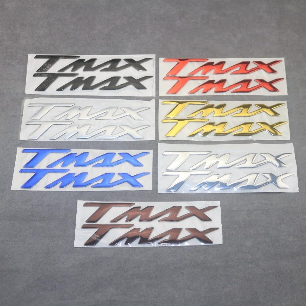 Pegatina 3D, pegatina de vinilo, T-MAX, insignia de logotipo, pegatinas TMAX para YAMAHA T-MAX530 TMAX530 T-MAX500 TMAX500