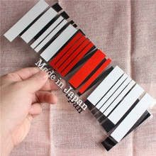 Новый 9x25 см Сделано в Японии флаг штрих-код наклейки для автомобиля ПВХ наклейка стиль для TOYOTA NISSAN HONDA SUBARU MAZDA MITSUBISHI SUZUKI