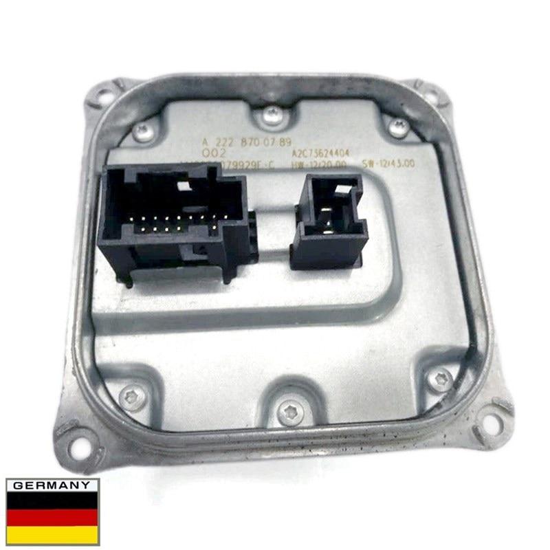 Ap02 módulo de controle led reator para mercedes c/e/v/cls/gl/gle/ml 180 200 260 280 300 320 350 400 450 500 560 600 680 amg c 63