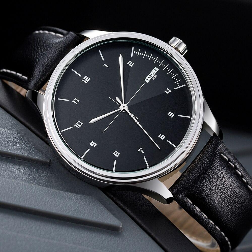 YAZOLE 2019 Moda Relógio de Quartzo Dos Homens Relógios Top Marca de Luxo Relogio masculino Masculino Relógio Dos Homens de Negócios Relógio de Pulso Hodinky