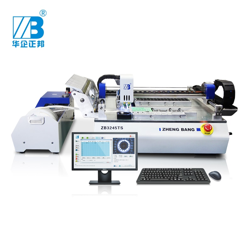 Automatic Placement Small Production Line Mounter Smd Desktop Smt Pick And Place Machine