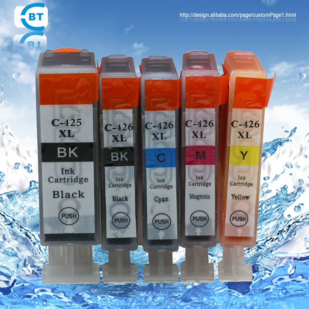 Cartucho de tinta para canon pgi-425 cli-426 compatible con 30 piezas para impresora MG5240/MG5140/IP4840/IX6540/MX884