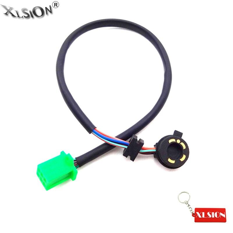 Sensor de posición de engranaje de 5 hilos XLSION enchufe hembra para 50cc 70cc 90cc 110cc 125cc ATV Quad Dirt Pit Bike Go Kart